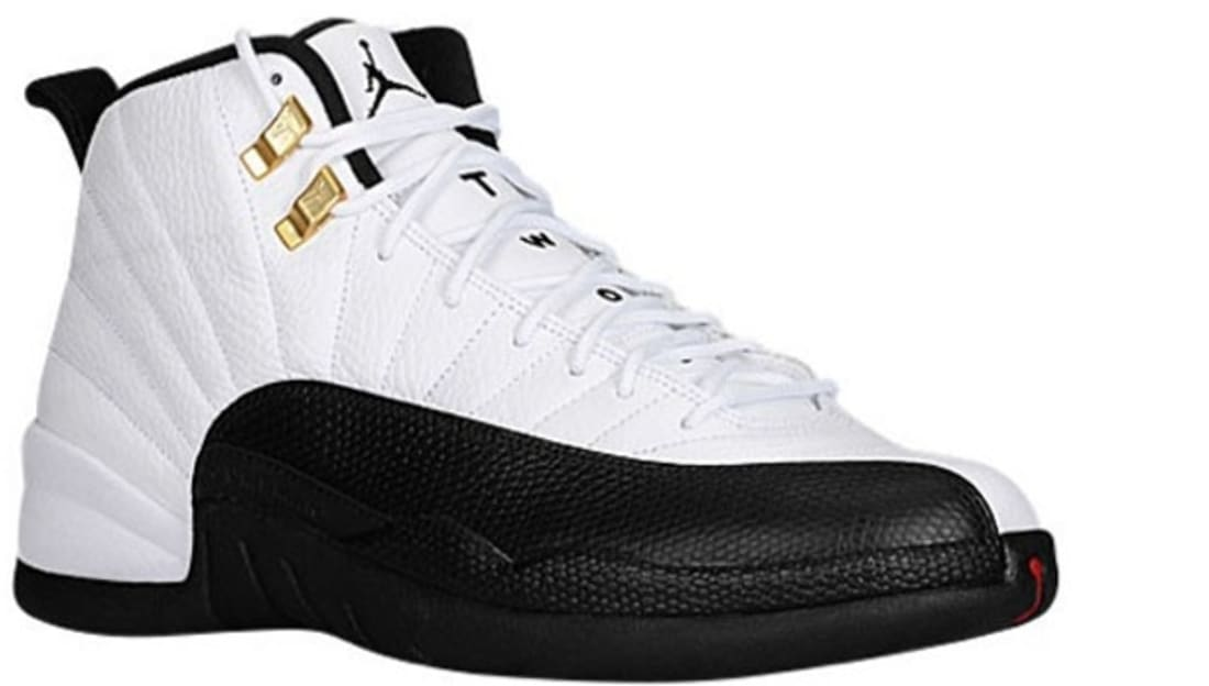 Air Jordan 12 Retro White/Black-Taxi-Varsity Red