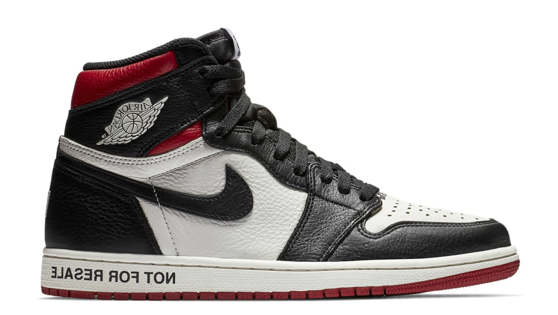Air Jordan 1 Retro High OG NRG Sail/Black-Varsity Red (No L's)