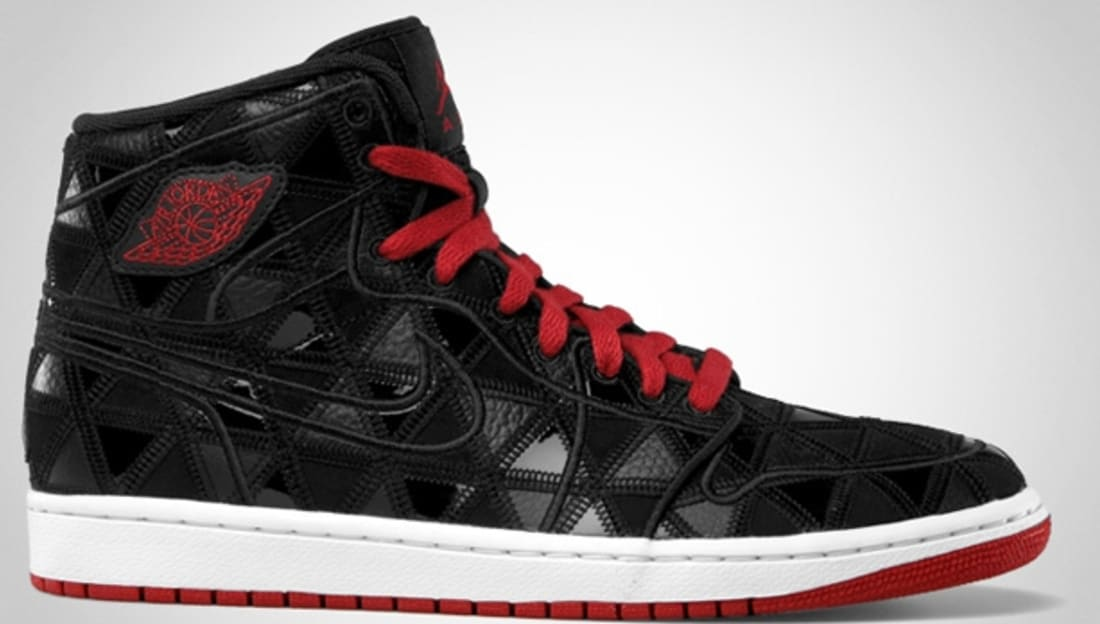 Air Jordan 1 Retro J2K High Black/Varsity Red-White