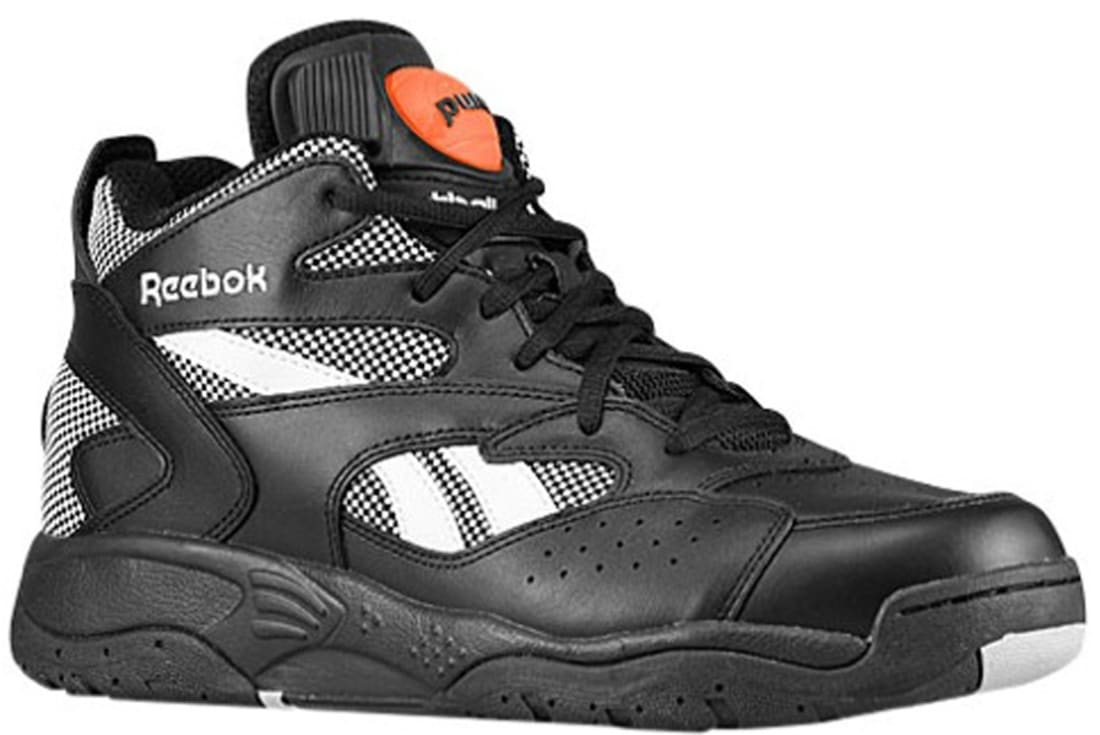 0649885bb3b Reebok Pump D-Time Black Steel-White-Varsity Orange