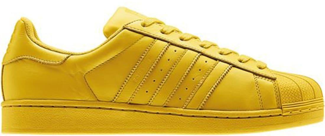 adidas Superstar Tribe Yellow/Tribe Yellow-Tribe Yellow