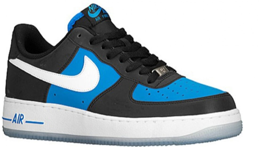 Nike Air Force 1 Low Black/Light Photo Blue-White