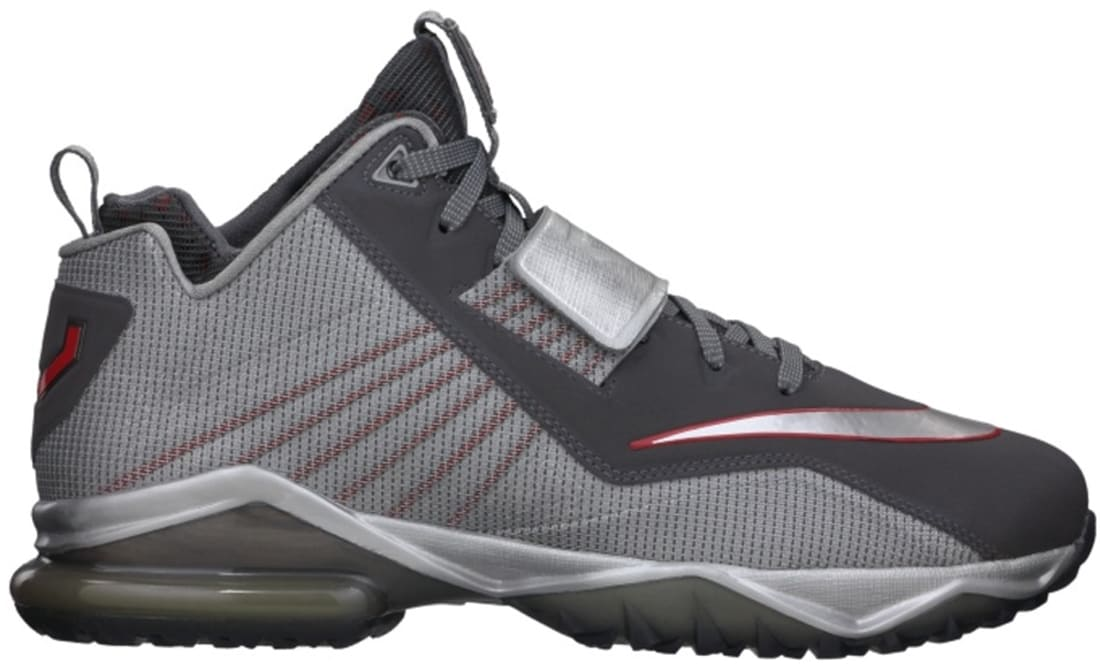 Nike Zoom CJ Trainer 2 Metallic Dark Grey/Metallic Silver-University Red