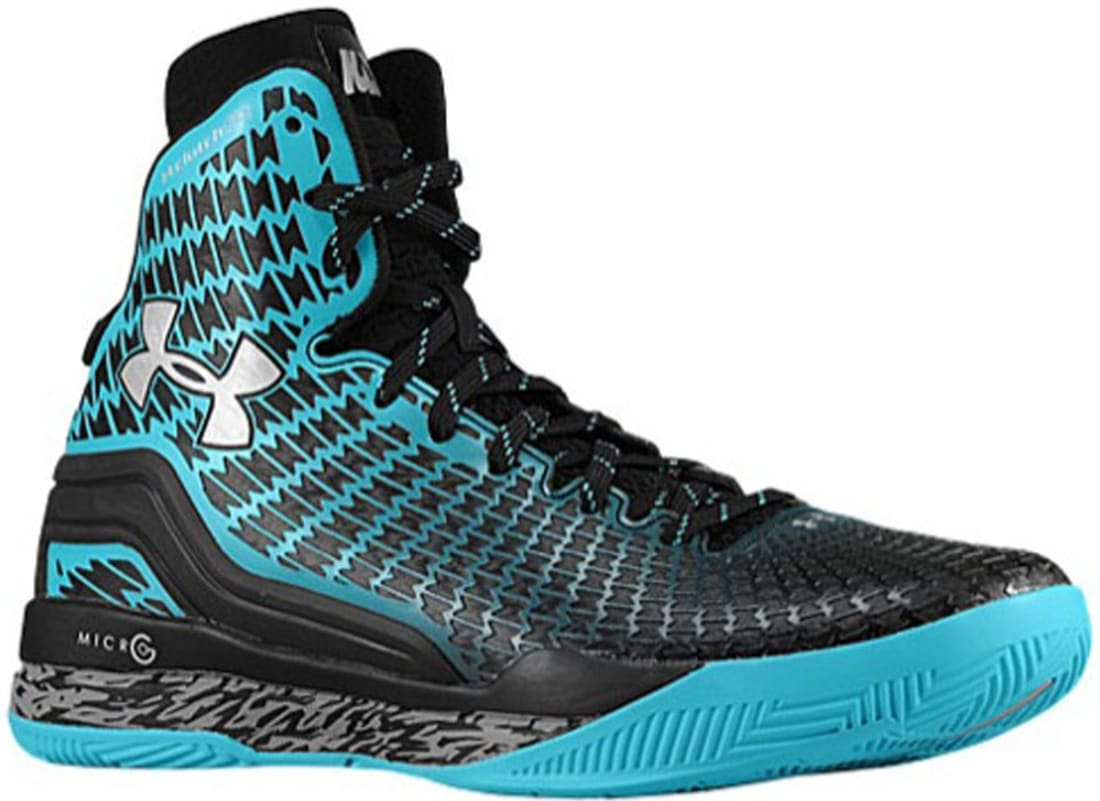 Under Armour Micro G Clutchfit Drive Black/Teal-Silver