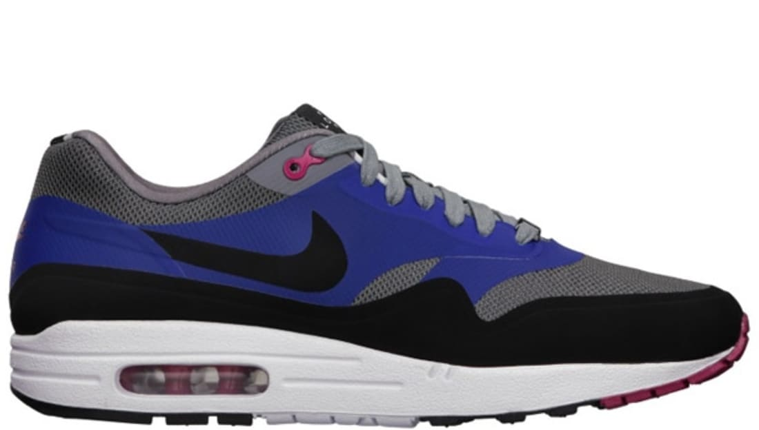 Nike Air Max 1 QS London Cool GreyBlack Hyper Fuchsia Old