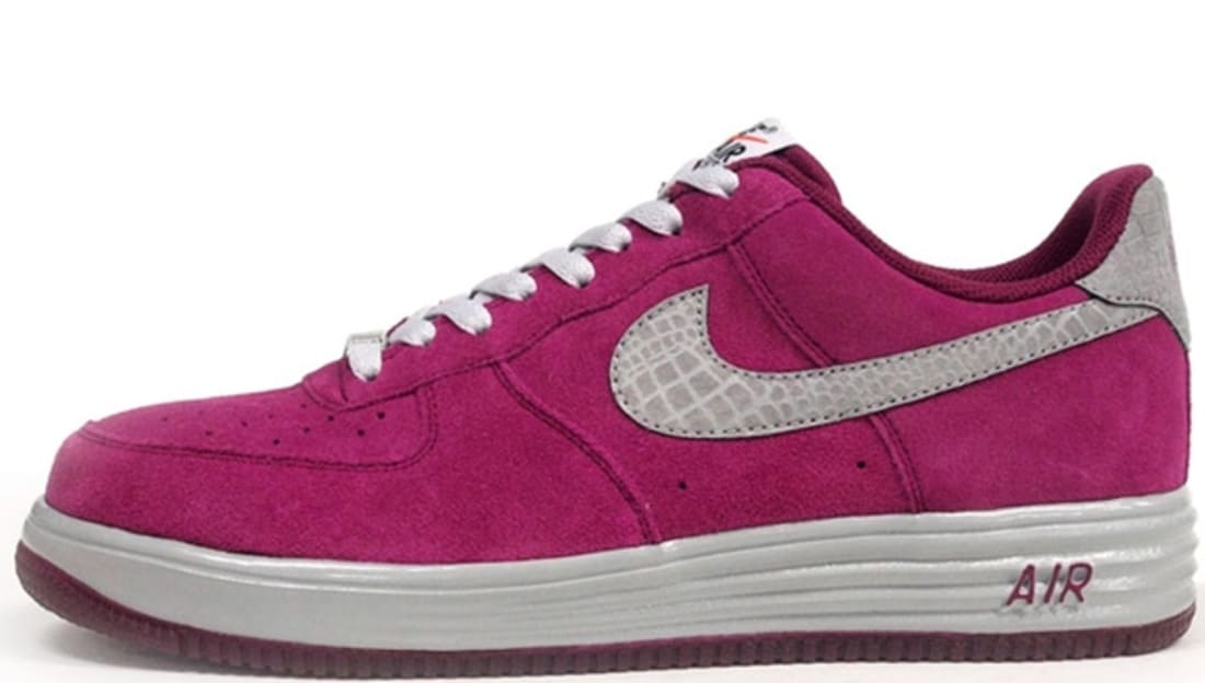 Nike Lunar Force 1 Low Reflect Raspberry Red/Reflect Silver