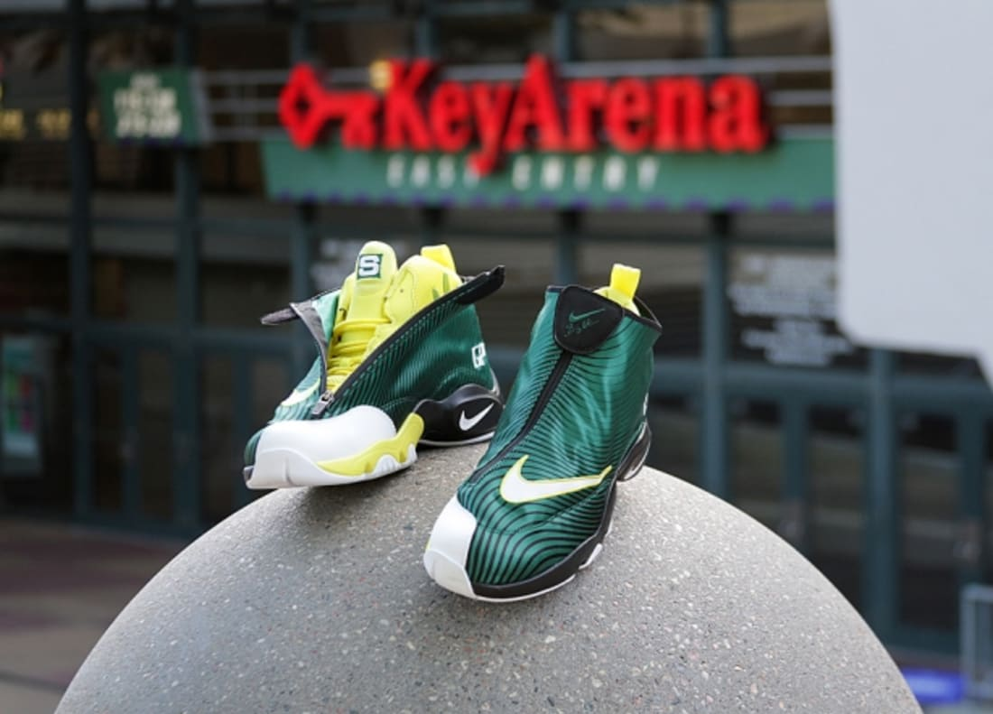 Nike Air Zoom Flight The Glove QS Legion Pine/Tour Yellow