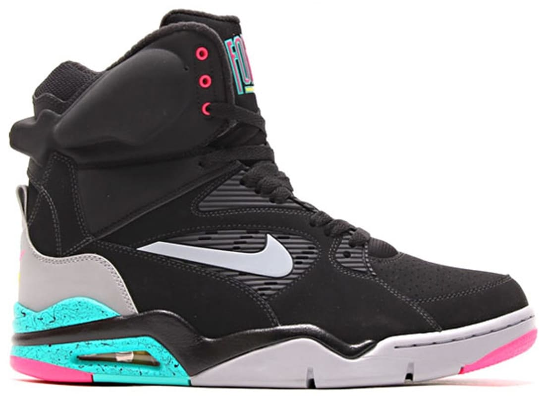 Nike Air Command Force Black/Wolf Grey-Hyper Jade-Hyper Pink