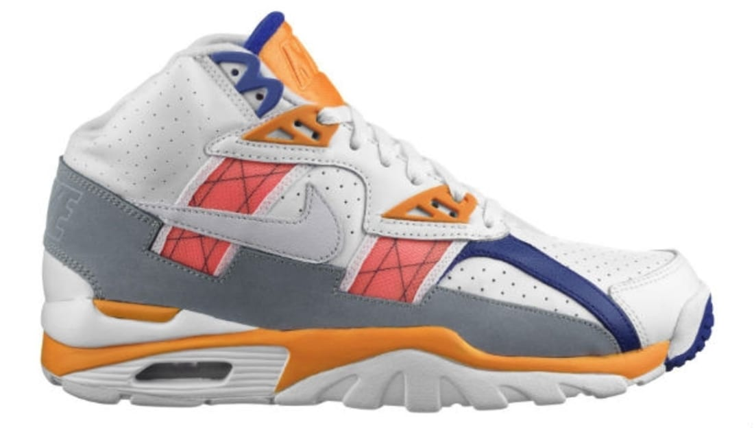 Nike Air Trainer SC High White/Light Zen Grey-Orange-Stealth