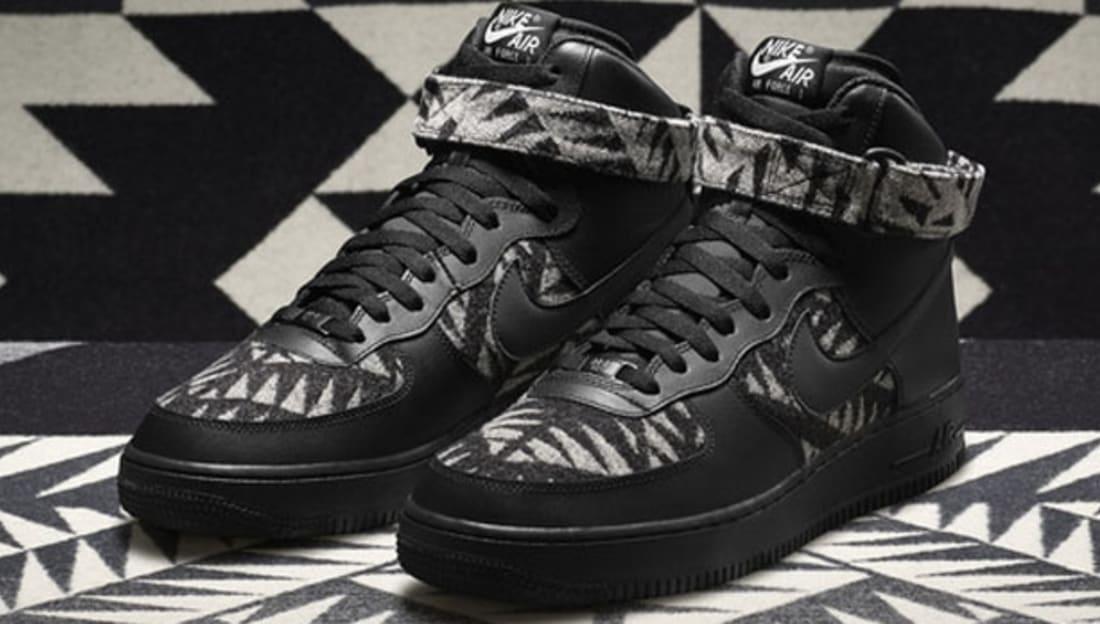 newest collection dad70 f5c5e Nike Air Force 1 High PWM N7 Black/Black-Summit White | Nike | Sole ...