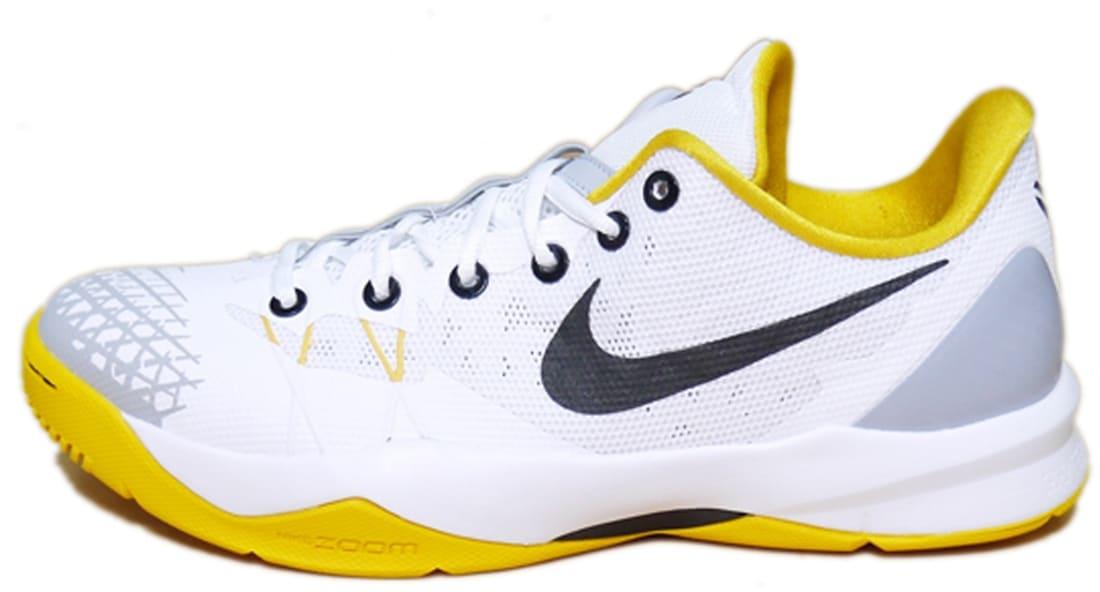 super popular 7470a 9bbb1 Nike Zoom Kobe Venomenon 4 White Black-University Gold-Wolf Grey