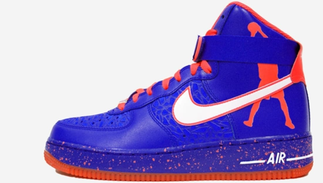 Nike Air Force 1 High CMFT Premium Sheed Knicks Royal