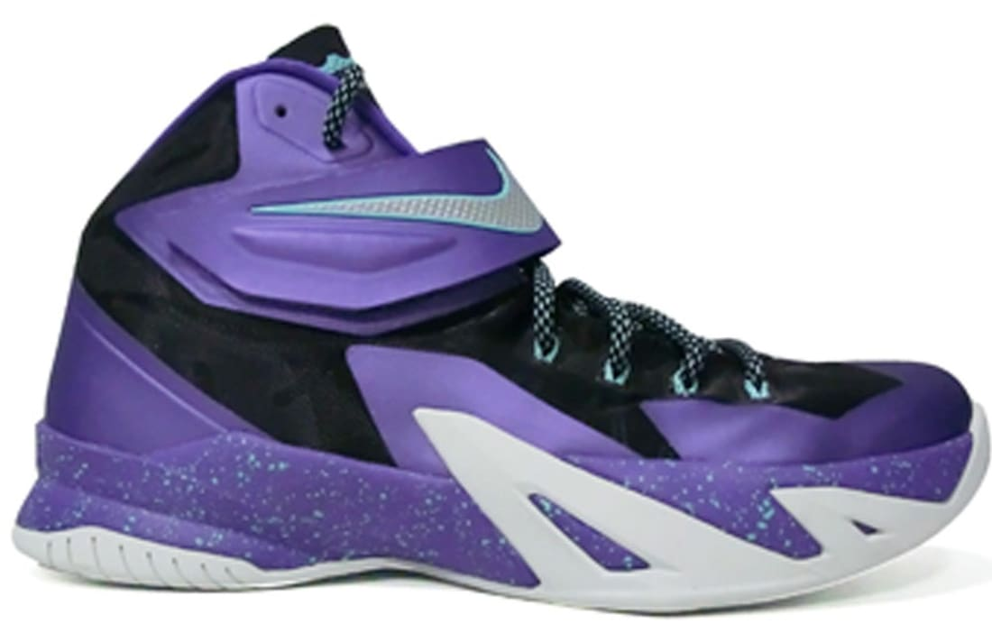 Nike Zoom Soldier VIII Cave Purple/Metallic Silver-Hyper Grape-Hyper Turquoise