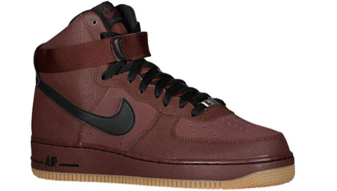 Nike Air Force 1 High Barkroot Brown/Black-Gum Medium Brown