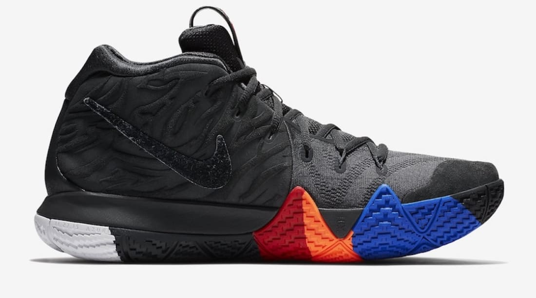 huge selection of 535e1 14b9a Nike Kyrie 4 Anthracite/Black
