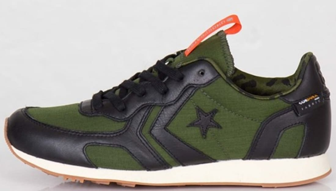 Converse Auckland Racer Ox Black/Rifle Green-Orange | Converse
