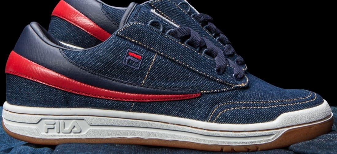 Fila Original Tennis Denim/Navy-Fila Red