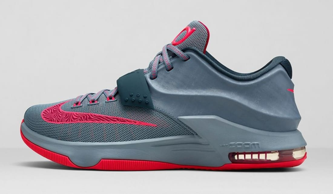 uk availability 7919a 76ea8 Nike · Nike KD · Nike KD 7 (VII). Nike KD VII Base Grey Hyper Punch-Light  Magnet Grey