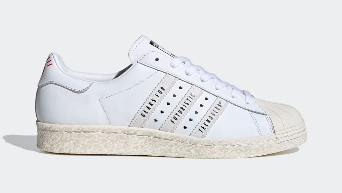 adidas superstar white core black dames