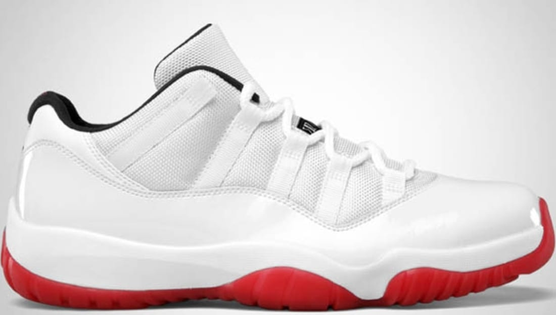 Air Jordan 11 Retro Low White/Varsity Red-Black