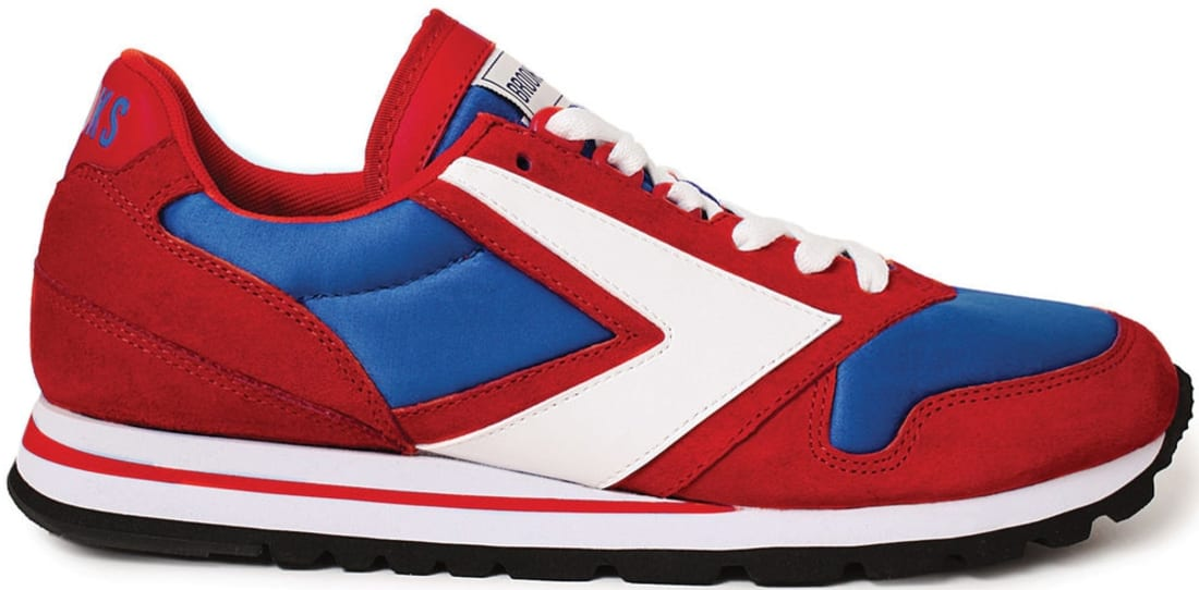 Brooks Chariot True Red/Royal Blue-White