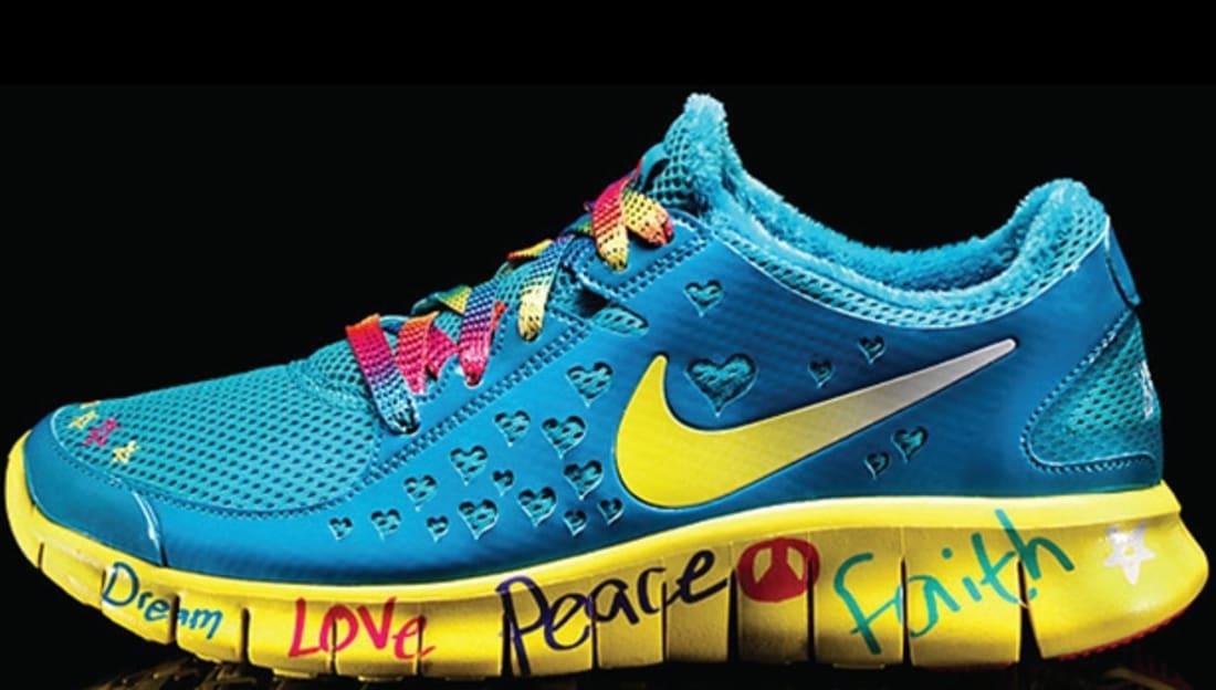 official photos 6203f 25ec1 Shelby s Nike Free Run 2 Women s DB Doernbecher