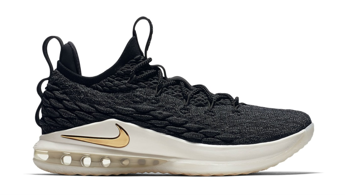 d7e73237980 Nike · Nike LeBron · Nike LeBron 15 (XV) Low. Nike LeBron 15 Low Black Metallic  Gold-Phantom