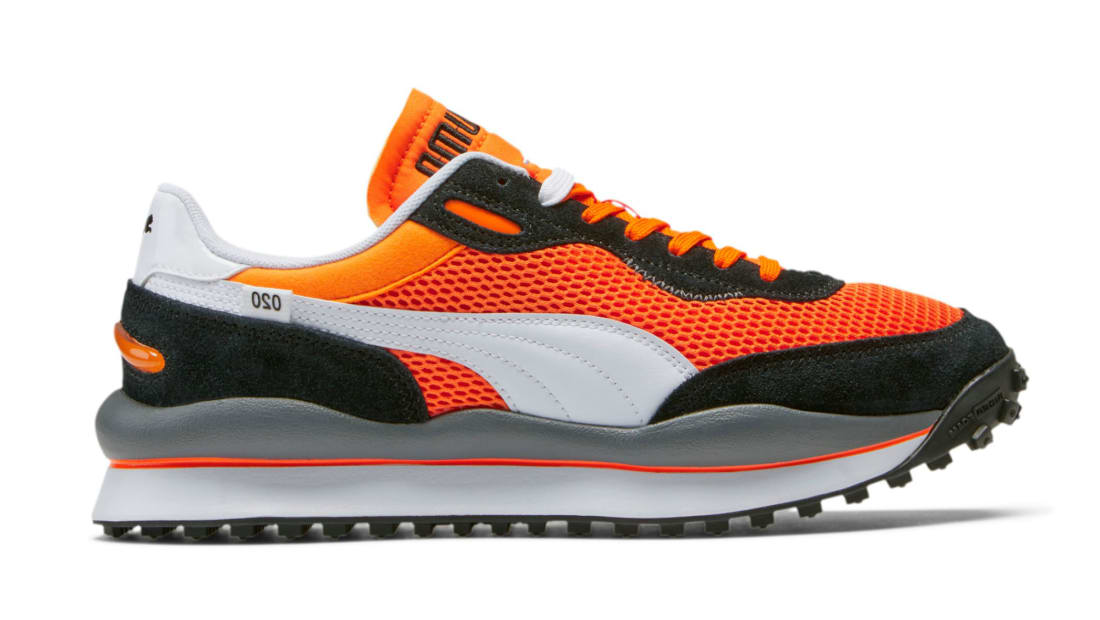 Puma Style Rider Vibrant Orange-Puma Black