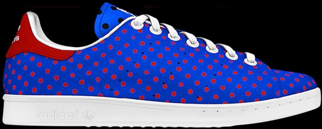 adidas Originals Stan Smith Blue/Red