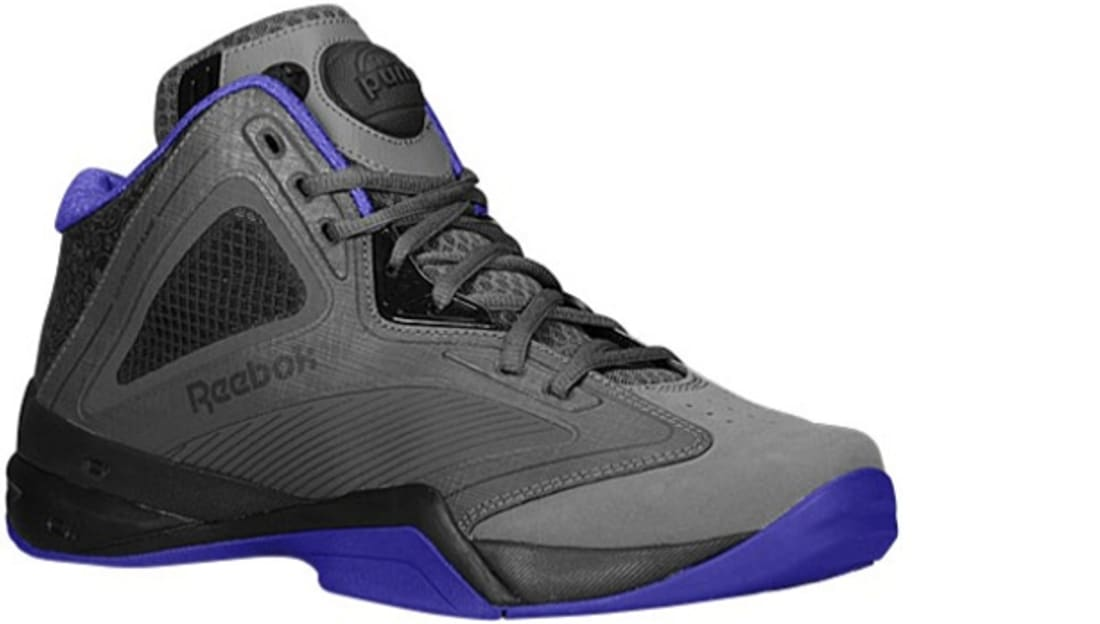 Reebok Pump Revenge Grey/Gravel-Purple