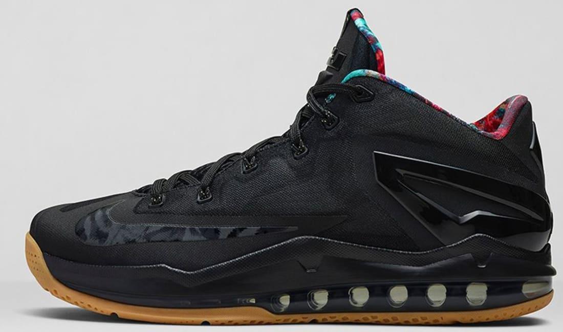 separation shoes 39069 1350a Nike · Nike LeBron · Nike LeBron 11 (XI). Nike LeBron 11 Low Black Black-Hyper  Crimson-Hyper Cobalt