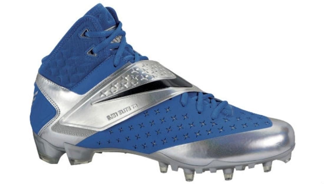 Nike CJ81 Elite TD Cleat Blue/Silver