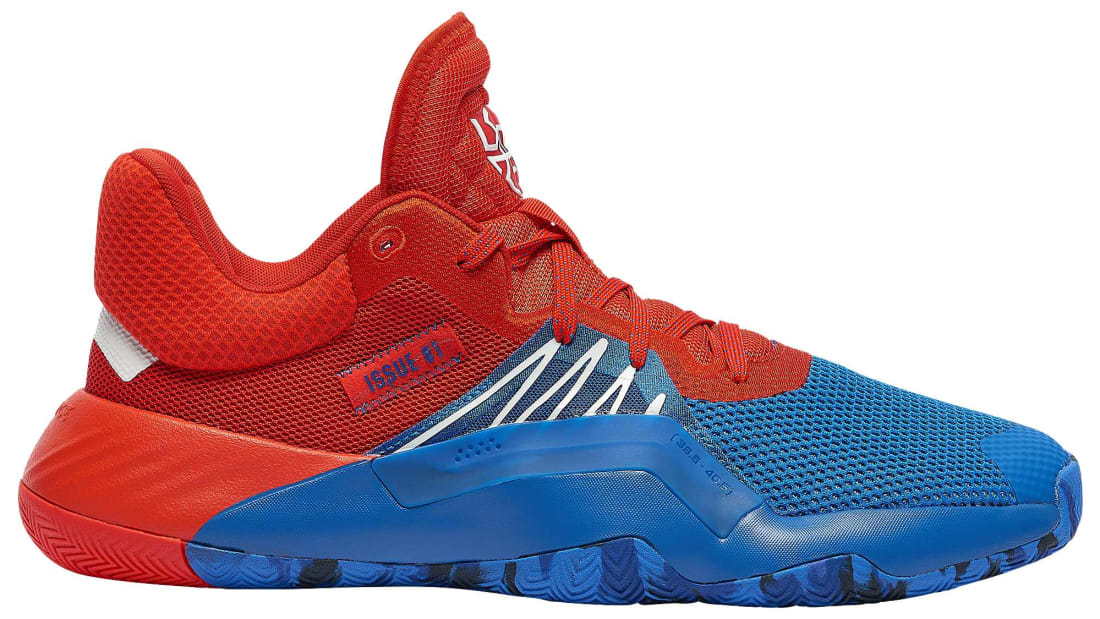 Adidas D.O.N. Issue #1 Blue/Red Footwear White