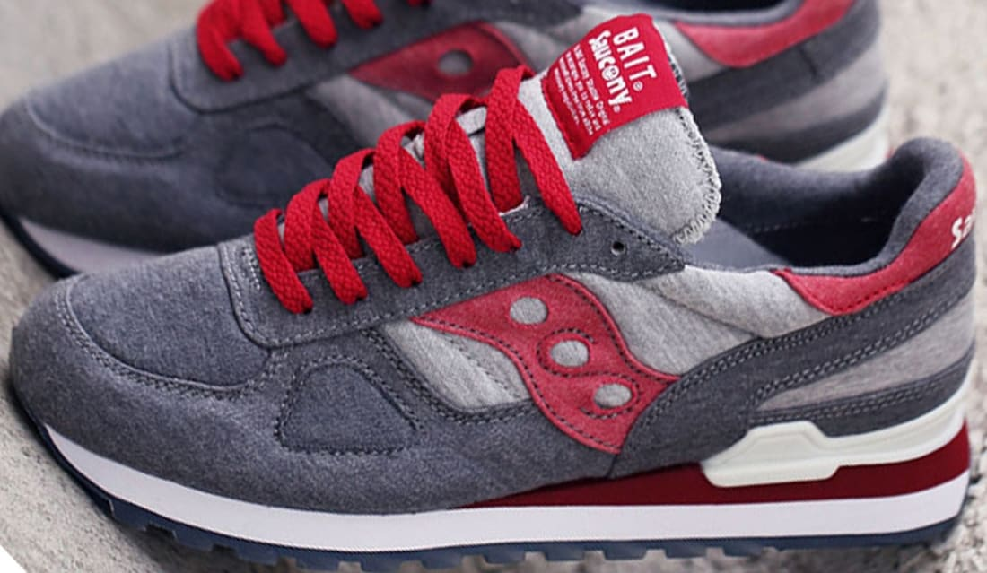 Saucony Shadow Original Grey Red  e3696681c1fa
