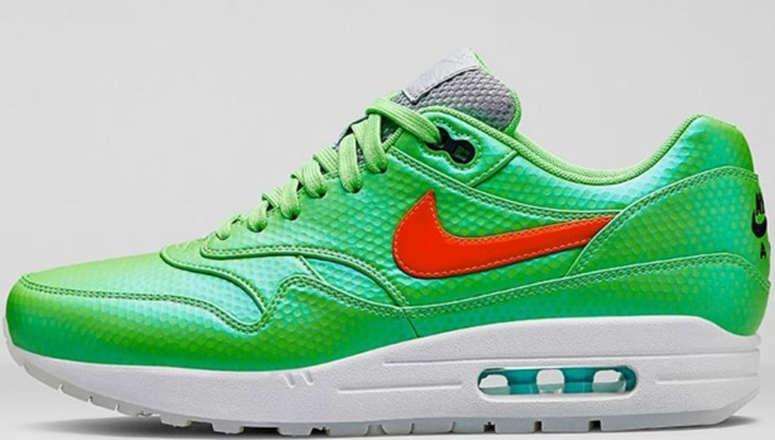 Nike Air Max 1 FB Premium QS Polarized Blue/Total Crimson-Neo Lime