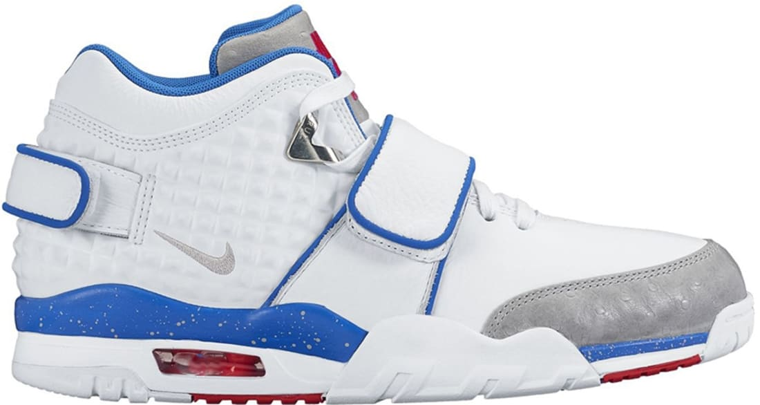 Nike Air Trainer V Cruz White/Game Royal-Bright Crimson-Metallic Silver