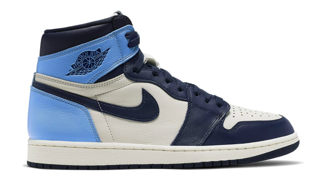 Air Jordan 1 Retro High OG Sail/Obsidian-University Blue ...