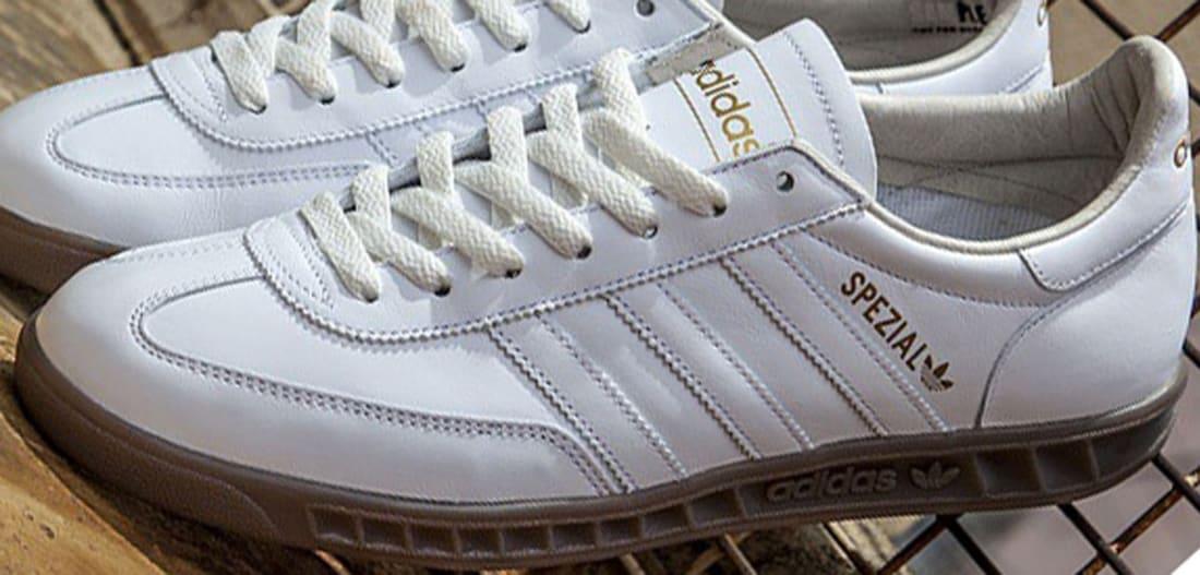quality design 551ce fbd85 adidas Originals Hand-Burg Spezial White/Gum | Adidas | Sole Collector