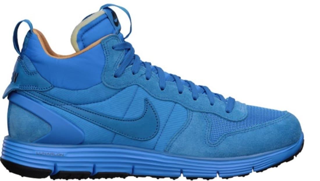 cheaper 50d87 396ef Nike Lunar Solstice Mid SP Court Blue Del Sol-Marina Blue