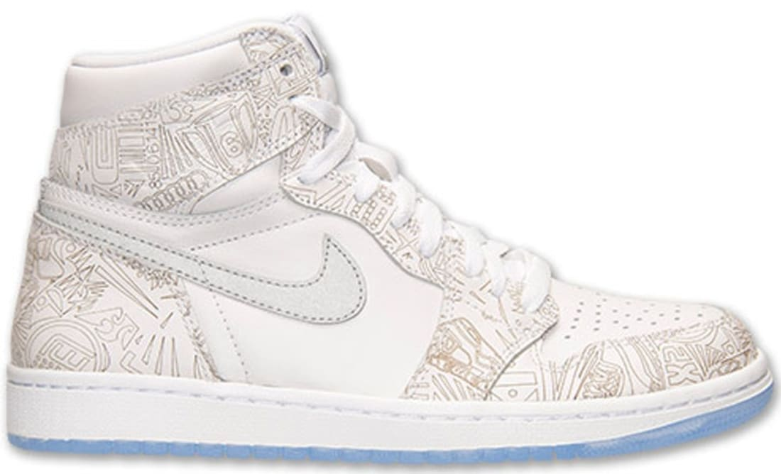 info for 6a490 c5458 Air Jordan 1 Retro High OG Laser White Reflective Silver