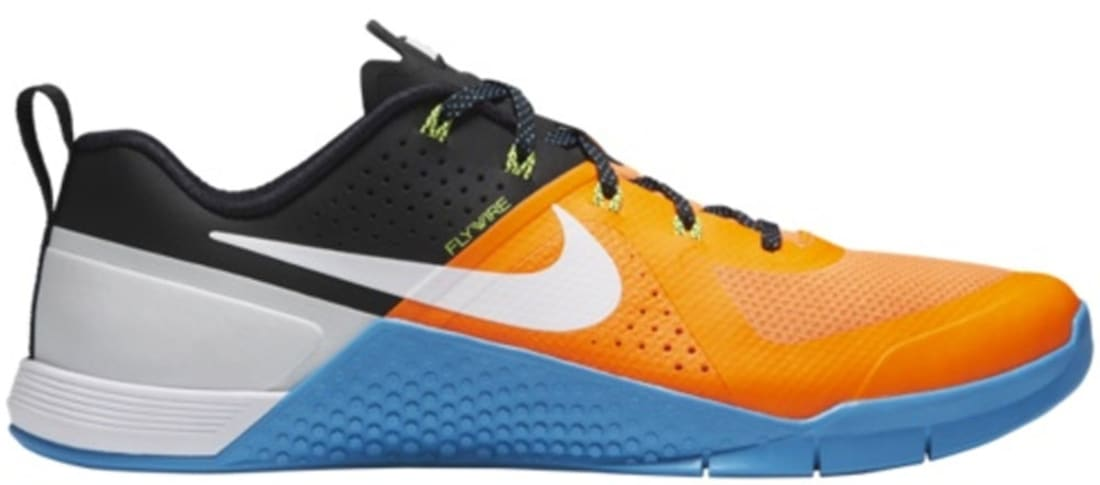 Nike · Nike Training · Nike Metcon 1. Nike Metcon 1 Total Orange Black-Blue  Lagoon-White 09c99a759