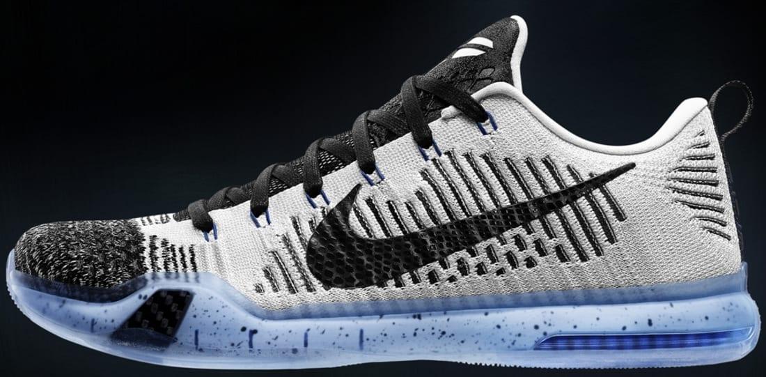 Nike Kobe X Elite Low Premium White/Black