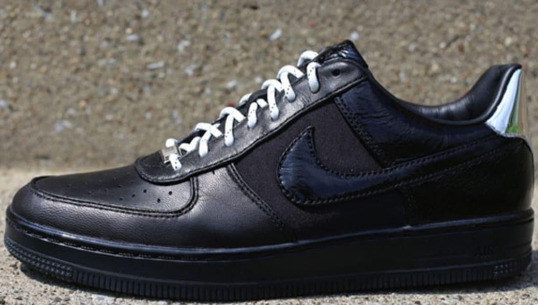 Nike Air Force 1 Downtown Low Black/Metallic Silver