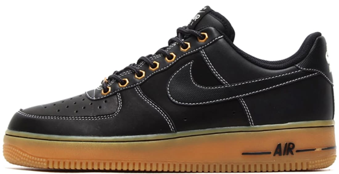 Nike Air Force 1 Low Black/Black-Sail