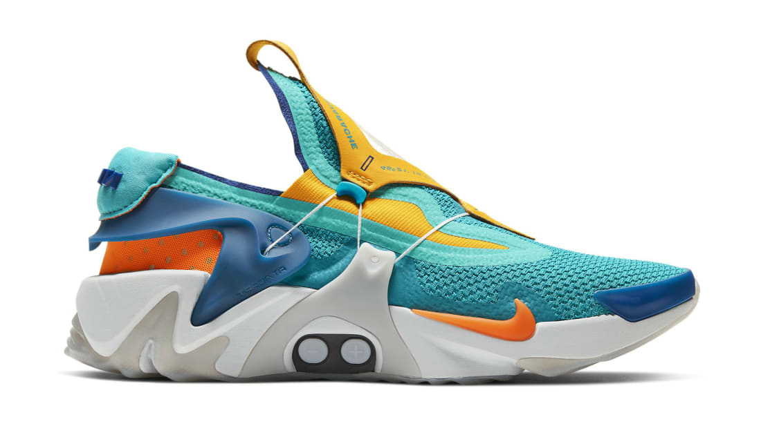 Nike Adapt Huarache Hyper Jade/Total Orange