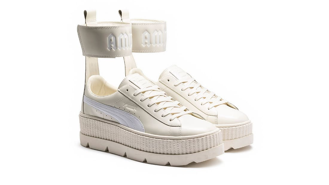 wholesale dealer 76bed a96a2 Fenty Puma by Rihanna Ankle Strap Creeper