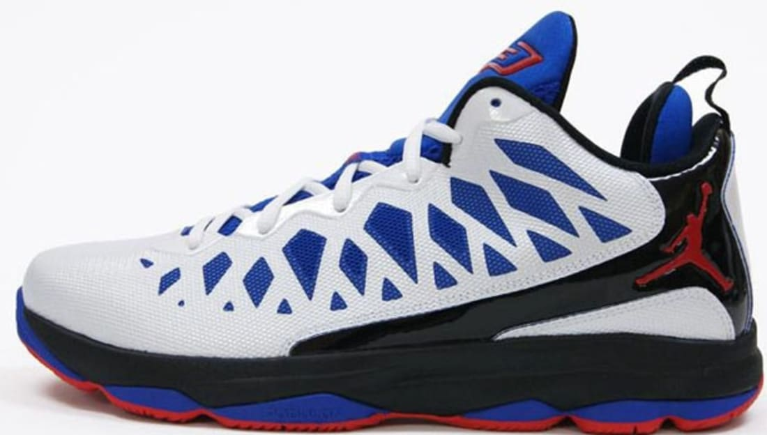 Jordan CP3.VI White/Sport Red-Black-Game Royal