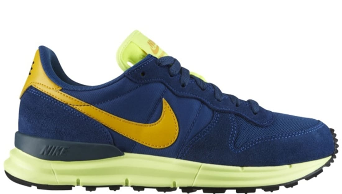 size 40 ed5d8 3edb7 Nike Lunar Internationalist Court Blue Del Sol-Volt-Deep Marina