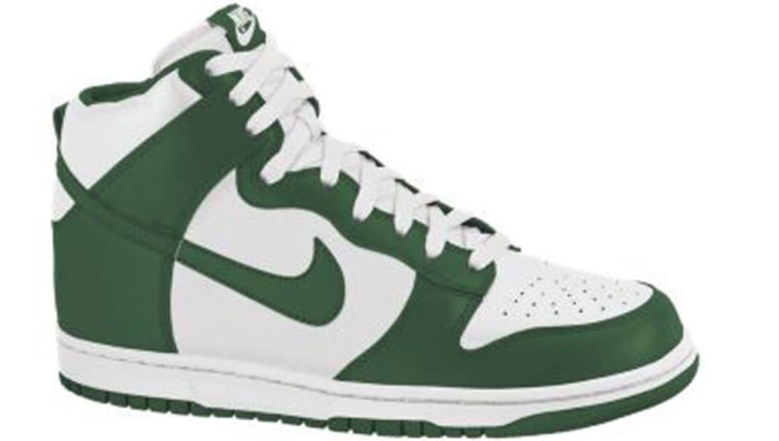Nike Dunk High Gorge Green/Sail