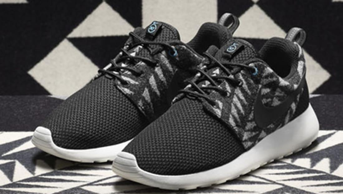 Nike Roshe Run Women's PWM N7 Black/Black-Summit White-Dark Turquoise